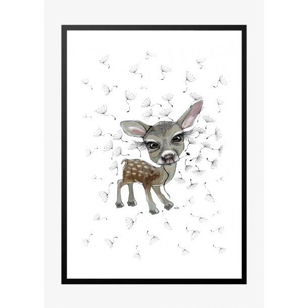 Bambi 2. Plakat med dyr.
