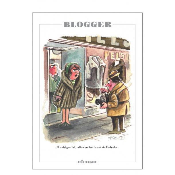 Blogger - Füchsel humørplakat