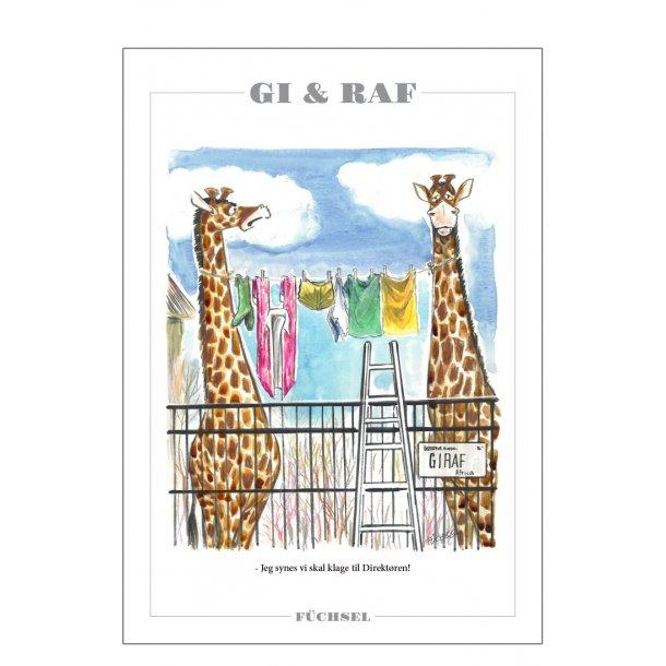 Gi & Raf - Füchsel humørplakat