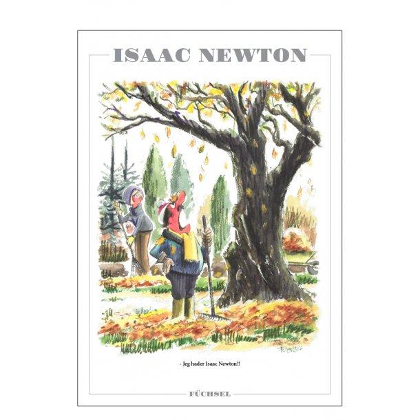 Isaac Newton - Füchsel humørplakat