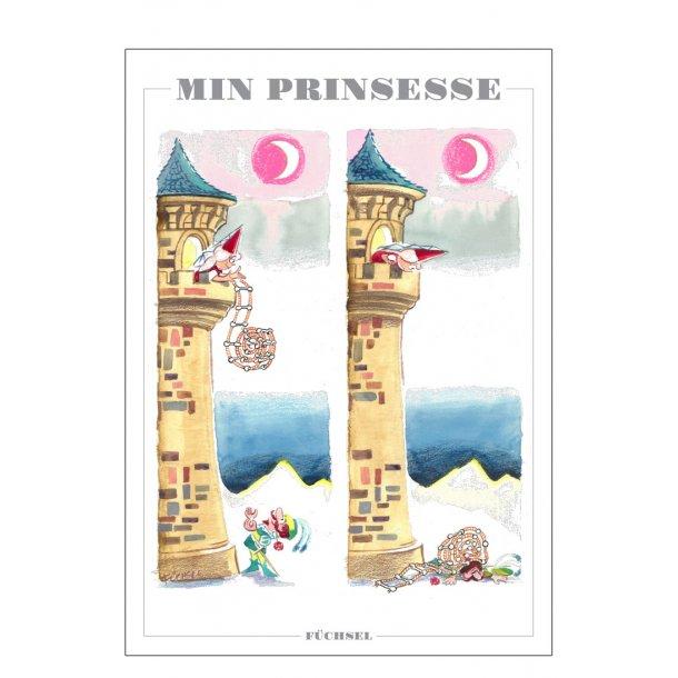 Min prinsesse - Füchsel humørplakat