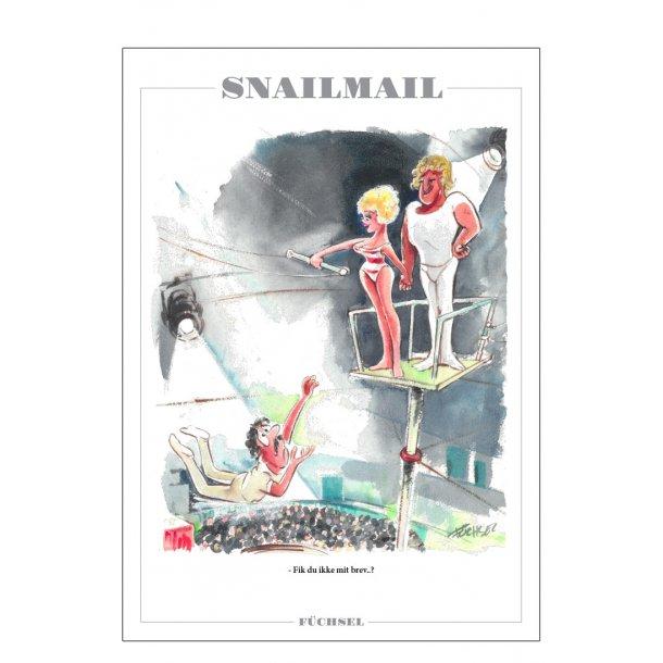 Snailmail - Füchsel humørplakat