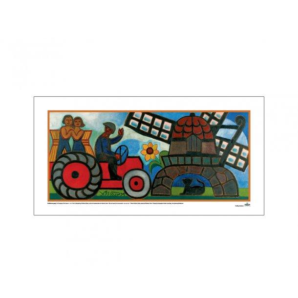 Heerup, 3. Mand på traktor