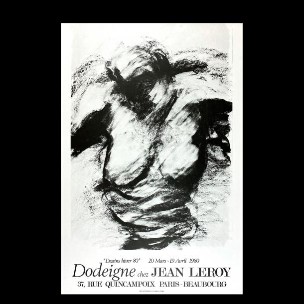 Dodeigne chez Jean Leroy (Original litografi plakat)