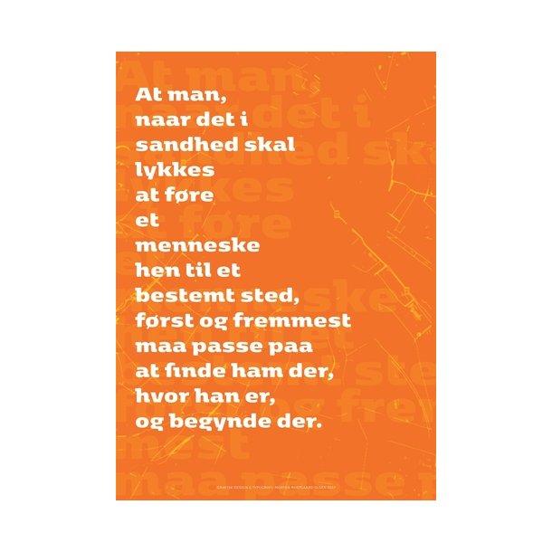 kierkegaard citat Olsen, Søren Kierkegaard Citat / 2   Plakater   Permild & Rosengreen kierkegaard citat