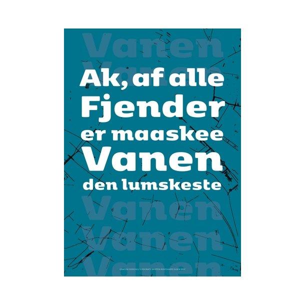 kierkegaard citat Olsen, Søren Kierkegaard Citat / 4   Design plakater   Permild  kierkegaard citat