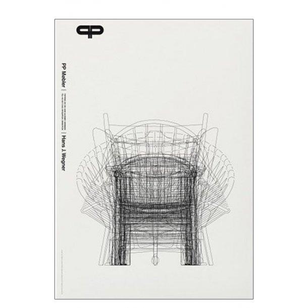 Koch, PP møbler - H. J. Wegner - Hvid