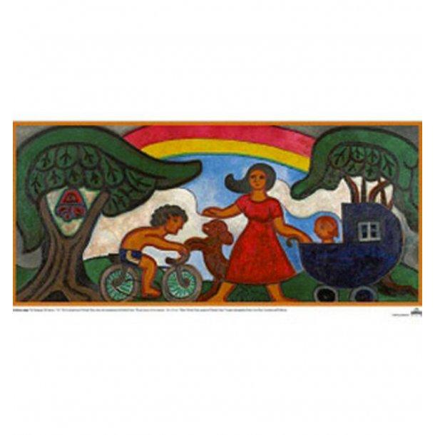 Heerup, 2. Kvinde med barnevogn