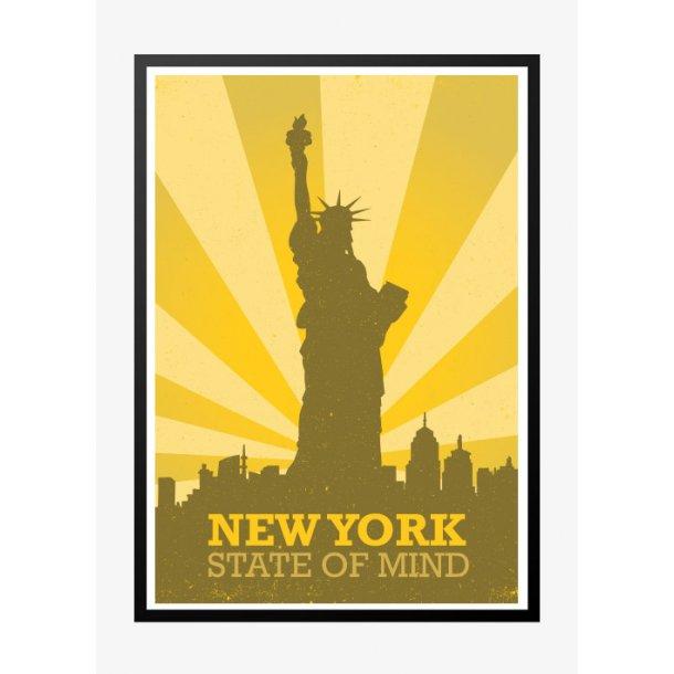 New York State of Mind - Retroplakat