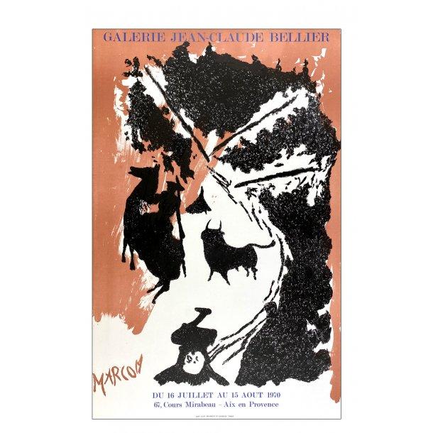 Marcon (Original litografi plakat)