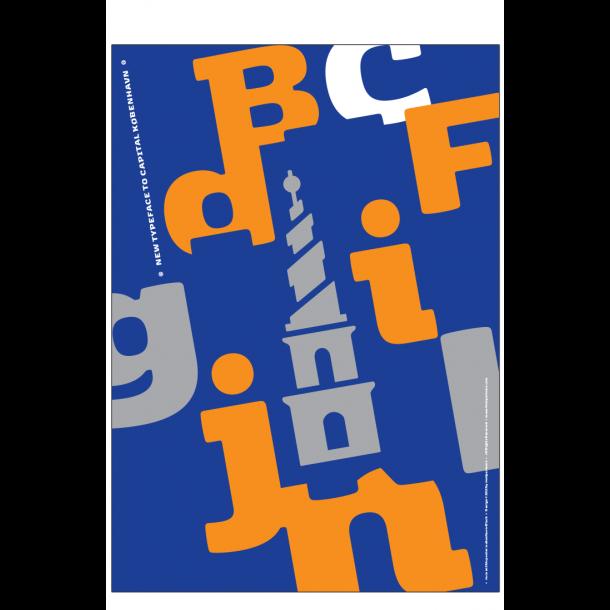 New typeface to capital København