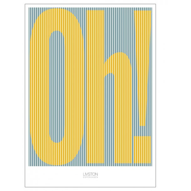 Oh! - yellow