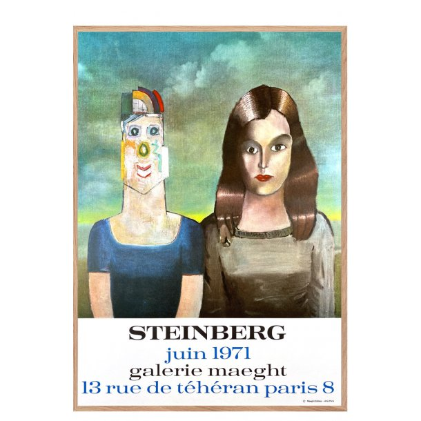Galerie Maeght – Steinberg 1971