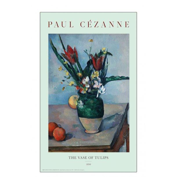 Paul Cezanne. The tulips in a vase