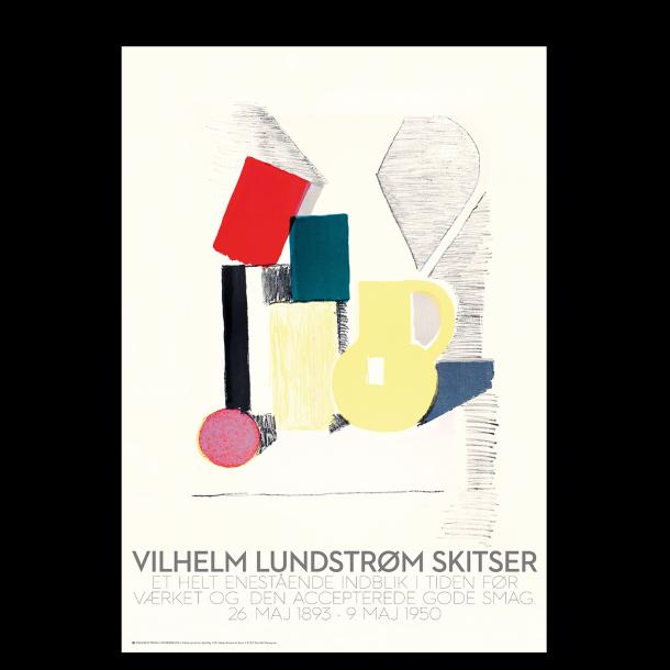 Vilhelm Lundstrøm skitse: Opstilling med gul kande (stor)